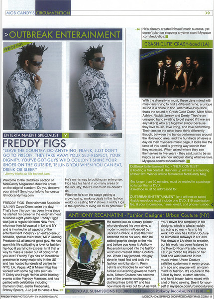 MOB CANDY MAG SPRING 2008