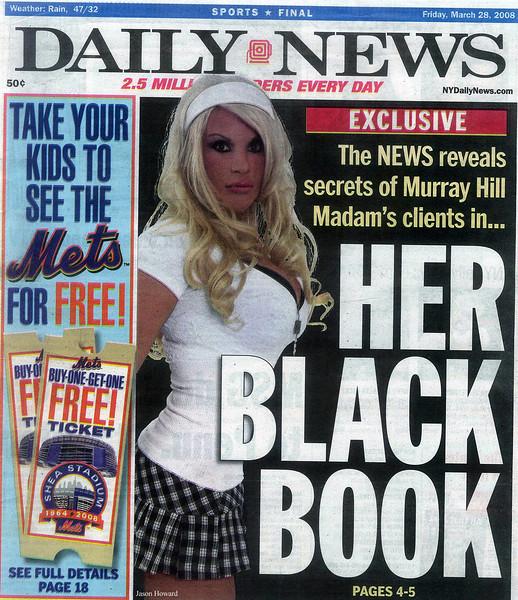 NY DAILY NEWS 3.28.08