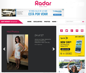 RADAR ONLINE  MAY 2010