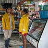 Marlon Langeland and Jhoana are doing grocery shopping.<br /> <br /> Jhoana, 20 years old, and her family had to flee after an armed attack in her village. Two of her brothers and her two cousins where killed. All male youth.<br /> <br /> Jhoana grew up in a small village along the river in the region of Chocó, Colombia. She loved playing with her siblings and cousins, walking in the bush and went swimming. Her dream was to study veterinarian because her passion for animals. Her dream got tossed when the community repetitively was threatened and they eventually had to flee.<br /> <br /> Armed attack<br /> It was an ordinary day in March 2017 when Jhoana and other women were celebrating women's day. The remaining village, mostly males, continued their normal activities when all of a sudden an armed group attacked. That night Jhoana couldn't sleep due to nightmares and not knowing the extent of the attack and not being able to go back to the village before the next day.<br /> <br /> The next day they witnessed several dead and wounded youths and she was devastated. Not one, but two of her elderly brothers had lost their lives. One where tied up and the other one was laying dead on a rooftop with rain poring down on the body. Furthermore, two cousins and a family friend, all young, and all males also lost their life's. <br /> <br /> Today, the village is abandon and appears more like a ghost town. Jhoana and her family are now too afraid to return to their village because of the uncertainty that follows and if another armed attack will happen again.<br /> <br /> Life today<br /> Now, her daily activities are restricted to short trips; when she leaves the house, she does not go far and she coordinates her trips with relatives. A common daily activity can consist of meeting her cousins at the pier and watch them swim. Or, she will only hang out in their house. At home, where she spends most of her time, she writes her diary to cope with the armed attack and the loss of h