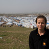 NRC's Program Director in Iraq, Rebecca Dibb. Photo Credit: NRC/Ingrid Prestetun