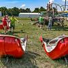 Daviess County Lions Fair setup