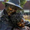 Photo by Greg Eans, Messenger-Inquirer.com/geans@messenger-inquirer.com<br /> <br /> A detail of the outdoor sculpture Harvest Dreams by George Lundeen of Loveland, Colorado. The sculpture sits at the north entrance of Riverfront Crossing.