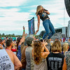 Photo by Greg Eans, Messenger-Inquirer.com/geans@messenger-inquirer.com<br /> <br /> Country singer Lauren Alaina performs on stage during the eighth annual Big O Music Fest at Reid's Orchard in Owensboro, Ky.