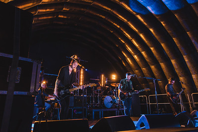 Feeder headlined the final night of Shoreline Music Festival. Photo by Ronan McGrade