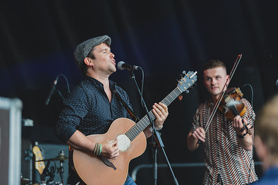 Rory and the Island supported Feeder on the last night of Shoreline Music Festival.  Photo by Ronan McGrade