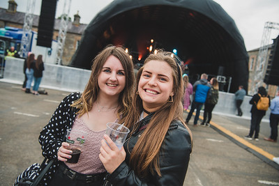 Jessica Campbell and Marta Lauze enjoyed Shoreline.  Photo by Ronan McGrade