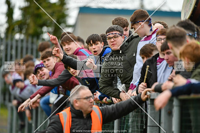 There was good support for St Michael's at the Hogan Cup semi final in Longford.  Picture: Ronan McGrade