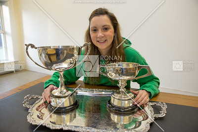Chelsea Wilson serves up trophies on a platter.