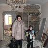 Alexander (Sasha) and mother Natasha.