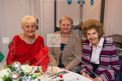 Myrtle Balfour, Florence Eames and Pat Johnston. Picture: Ronan McGrade