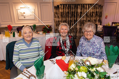 Muriel Henderson, Pat Shepherd and Gladys Armstrong. Picture: Ronan McGrade