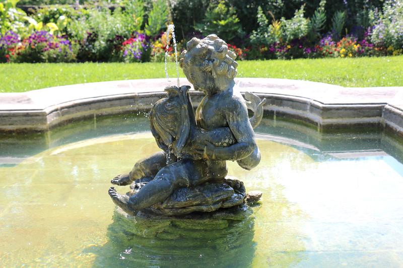 The Fountain Terrace of the Dumbarton Oaks Gardens