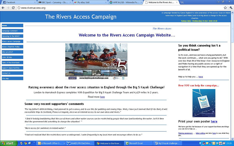 river access website