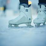 Eislaufschuhe am Eislaufplatz in Melk. Fotocredit: Stadt Melk / Gleiß