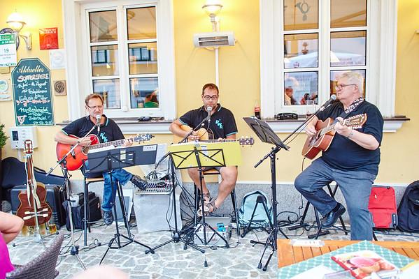 RWR spielte beim Hotel zur Post Ebner.<br /> Foto: Stadt Melk / Gleiß