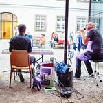"""""""Flowerpower"""" spielten im Kulturhof im Pfarrhof.<br /> Foto: Stadt Melk / Gleiß"""