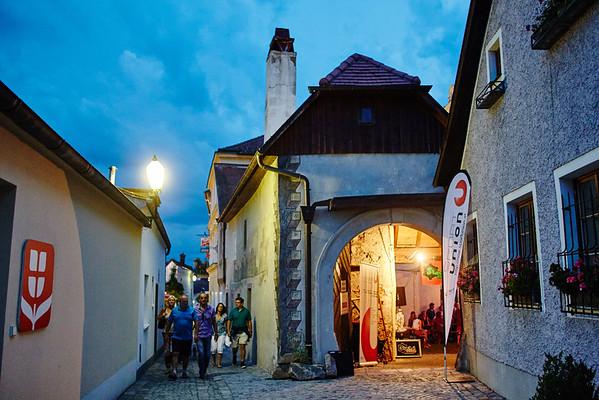 Die Sportunion bespielte den Zöchling-Hof in der Sterngasse.<br /> Foto: Stadt Melk / Gleiß