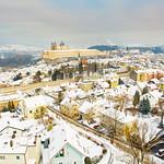 Winter in der Stadt Melk. Fotocredit: Stadt Melk / Franz Gleiß