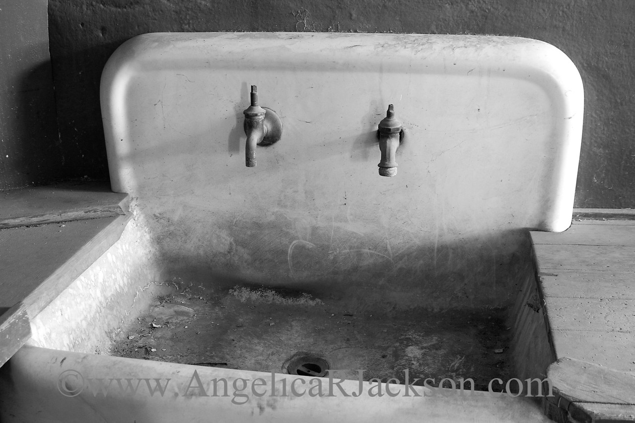 """""""Taps""""<br /> Sink in the basement<br /> May 2010"""