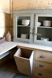 """Flour Bin"" Kitchen pantry April 2013"
