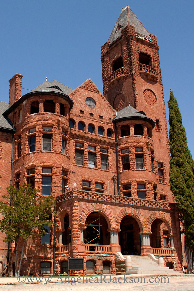 """""""Turrets and Towers""""<br /> Preston Castle exterior<br /> April 2013"""