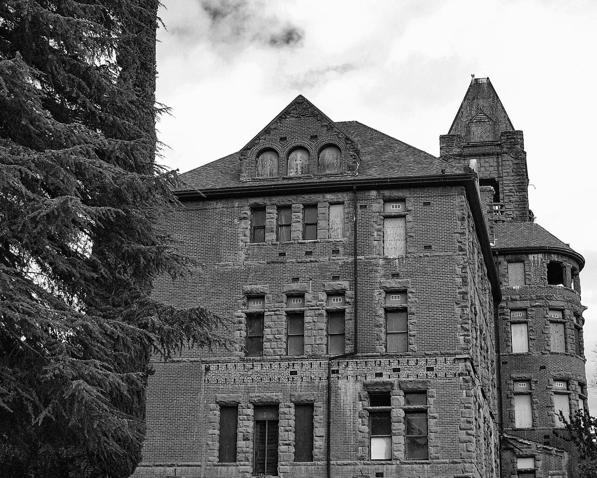 """Castle View""<br /> A cloudy day at Preston Castle."