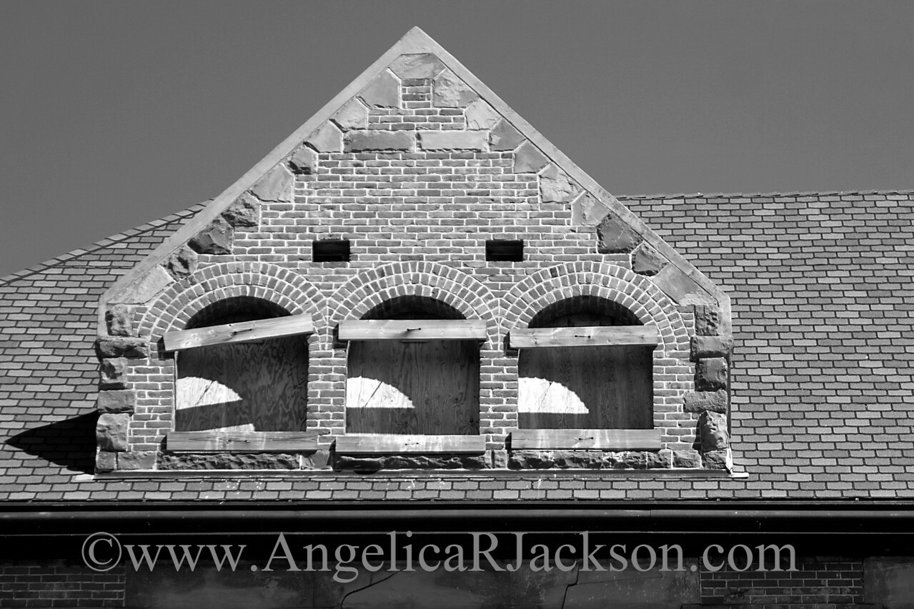 """""""Dormer""""<br /> Detail of the rooftop dormer<br /> May 2010"""