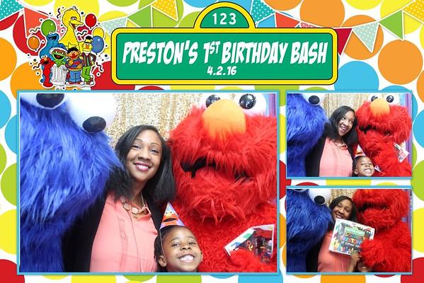 Preston's 1st Birthday Party
