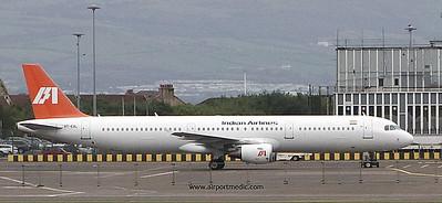 G-POWU A321 Titan Airlines @ Prestwick Airport (EGPK)