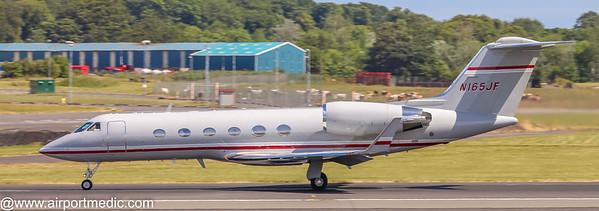 N165JF Gulfstream GIV Solairus Aviation