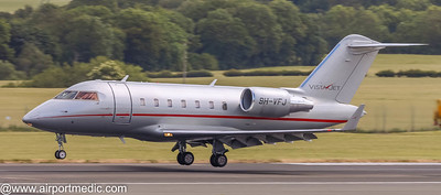 9H-VFJ Bombardier Challenger 605 Vista Jet Malta