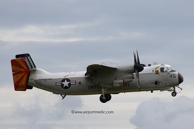 162168  Grumman C-2A Greyhound  United States Navy Prestwick AIrport (EGPK)