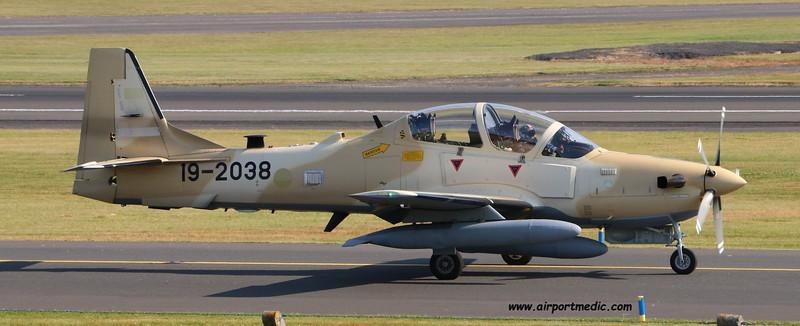 19-2038 A29 EMB314 Super Tucano Nigerian AF