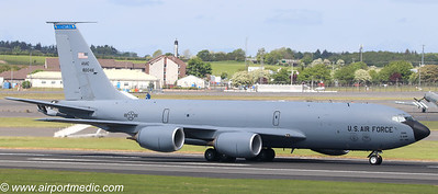 58-0046 KC135T US Air Force @ Prestwick Airport (EGPK)