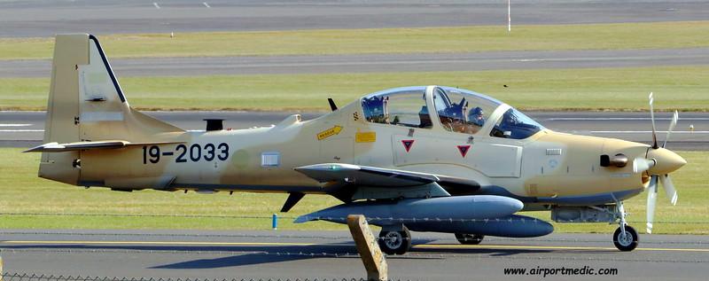 19-2033 A29 EMB314 Super Tucano Nigerian AF