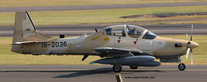 19-2036 A29 EMB314 Super Tucano Nigerian AF