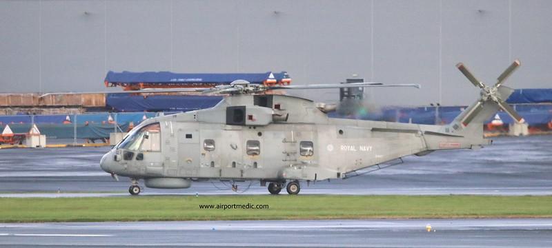 ZH862 EH101 Royal Navy @ Prestwick Airport (EGPK)