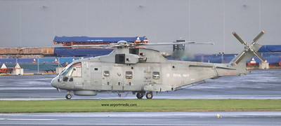ZH862 EH101 Royal Navy @ Prestwick Airport (EGPK)
