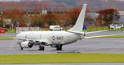 169544 P8A USN @ Prestwick Airport (EGPK)