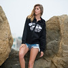 Nikon D800 E Photos of Model in Hoody & Denim Cutoff Jeans Shorts !