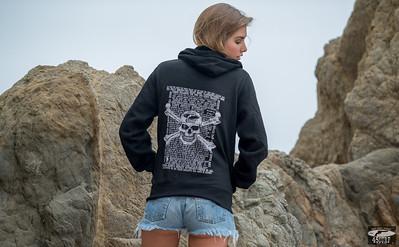 Nikon D800E Photos of Model in Hoody & Denim Cutoff Jeans Shorts !
