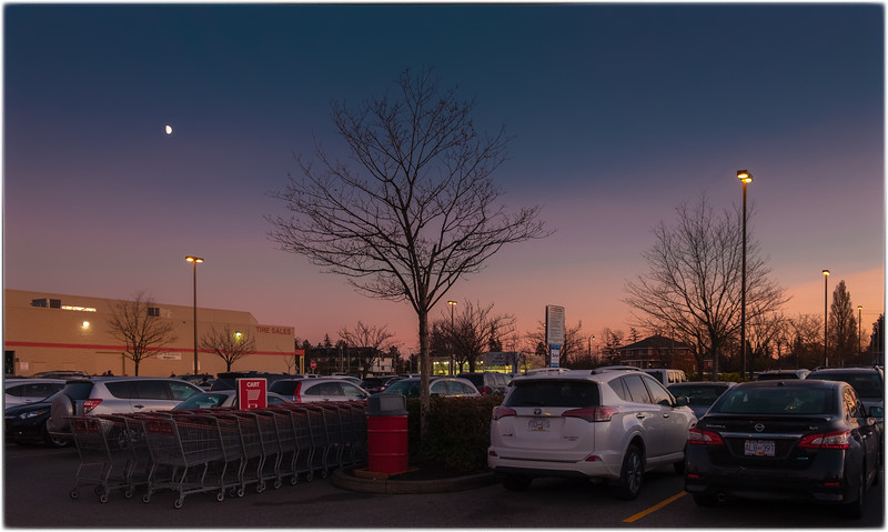 Costco Richmond parking lot