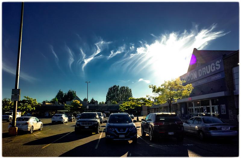 Trenant Park Ladner parking lot