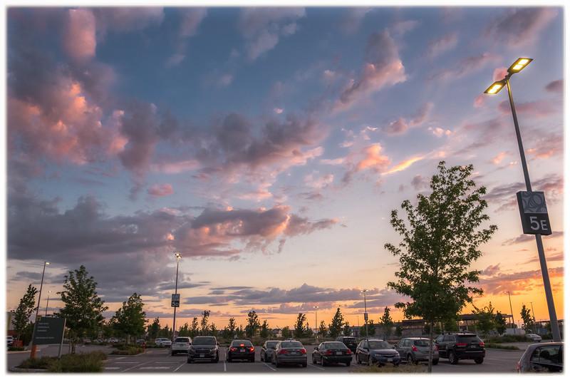 Tsawwassen Mills parking lot