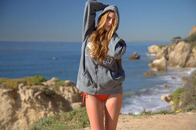 Pretty Brunette Swimsuit Model Goddess