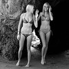 Pretty Twin Sister Bikini Swimsuit Model Goddesses