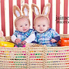 What I am working on now... Easter photos!<br /> These are two of the cutest little Easter bunnies I have ever seen!
