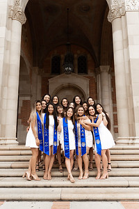Chi Alpha Delta Robins Graduation Photoshoot