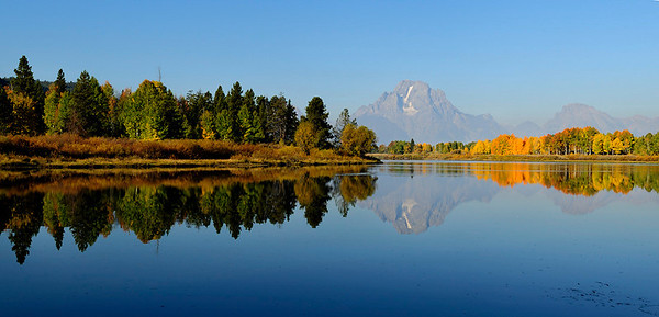 Oxbow Bend, panoramic